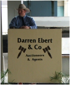 Darren Ebert Auctioneers in action